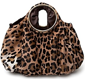 Jane august leopard haircalf bag 1998