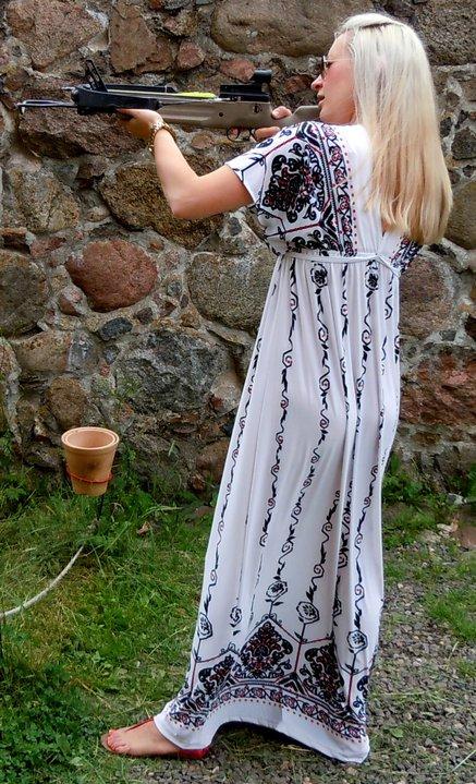 Trakai with gun for Blog